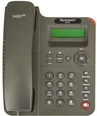 DYNAMIX IP Phone E210 - IP-телефон (SIP 2.0), два 10/100M Ethernet порти (PC і LAN), RJ-45